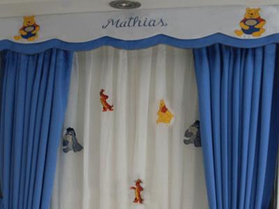 Cortinas nios diseos de cortinas para nios barco de - Cortinas para ninos ...